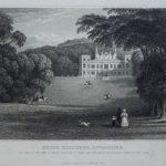 Engraving of Mount Edgcumbe House, 1830